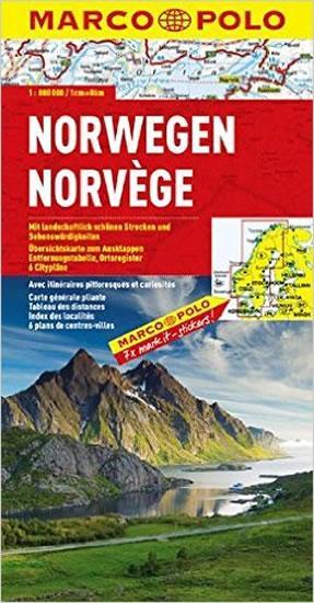Norsko/mapa 1:800T MD