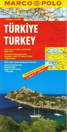Turecko/mapa 1:800T