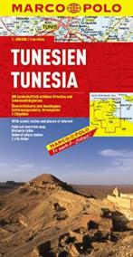 Tunisko /mapa