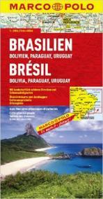 Brazílie, Bolívie, Paraguaay, Uruguay
