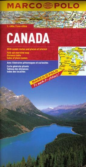 Kanada / mapa