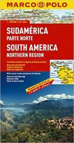 Jižní Amerika - sever/mapa