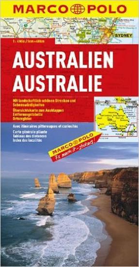 Austrálie /mapa