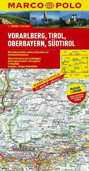 Rakousko 3 / mapa