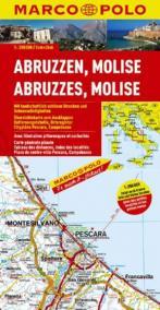 Itálie č. 10-Abruzzen,Molise/mapa1:200T MD