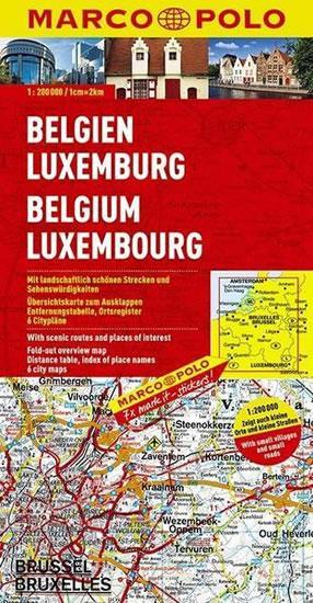 Belgie/Lucembursko/mapa 1:-200T MD