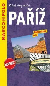Paříž / průvodce na spirále s mapou MD