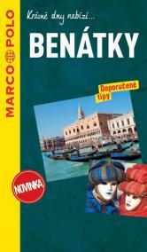 Benátky průvodce na spirále s mapou MD