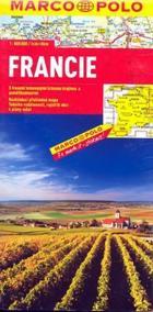 Francie - automapa 1:800 000