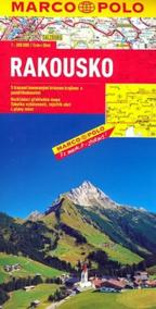 Rakousko - automapa 1:300 000