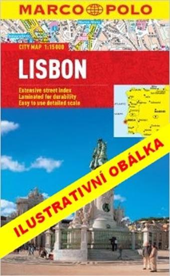 Lisabon - Průvodce se skládací mapou