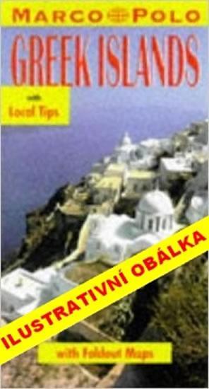 Řecké ostrovy v Egejském moři - Průvodce se skládací mapou