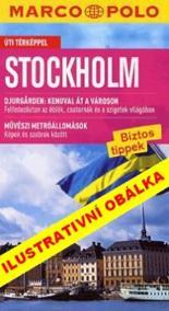 Stockholm - Průvodce se skládací mapou