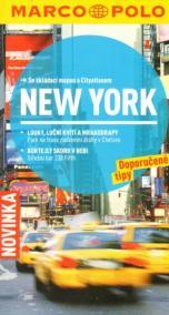 New York - Průvodce se skládací mapou