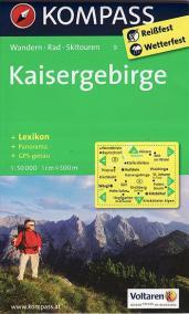 Kaisergebirge Kompass 9
