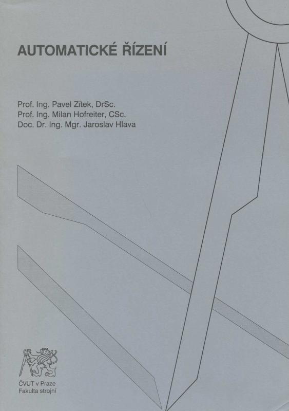 Kniha: Automatické řízení - Zítek