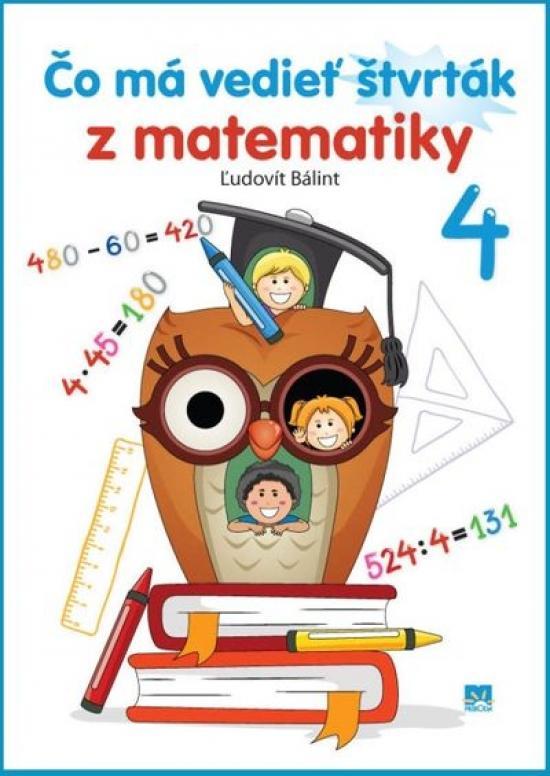 Čo má vedieť štvrták z matematiky