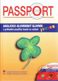 Passport Junior A-S slovník+CD s príkladmi použ