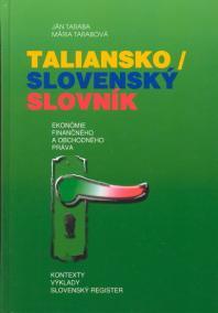 Taliansko/slovenský slovník ekonómie finančného a