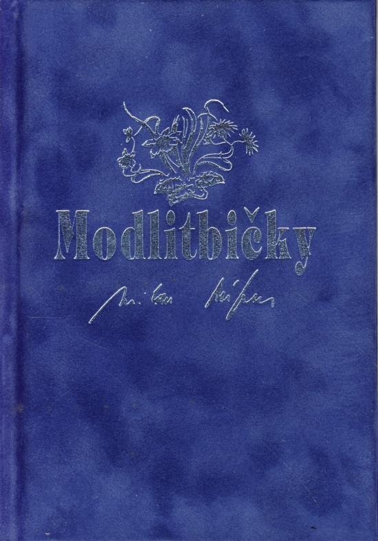 Kniha: Modlitbičky - zamat - 10. vydanieautor neuvedený