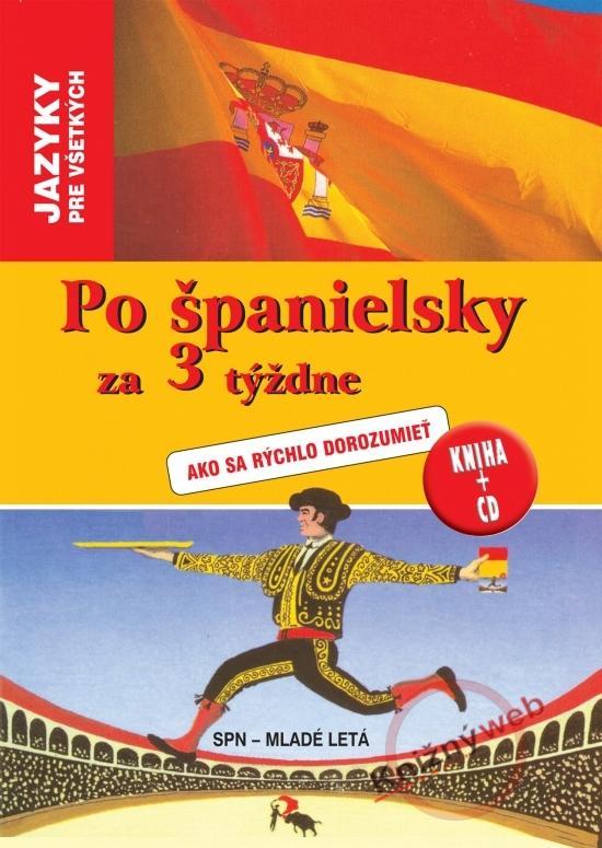 Po španielsky za 3 týždne + CD