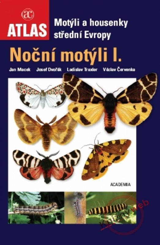 Kniha: Noční motýli I. - motýli a housenkykolektív autorov