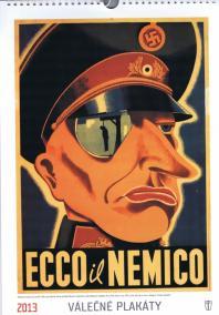 Kalendář vojenské plakáty 2013