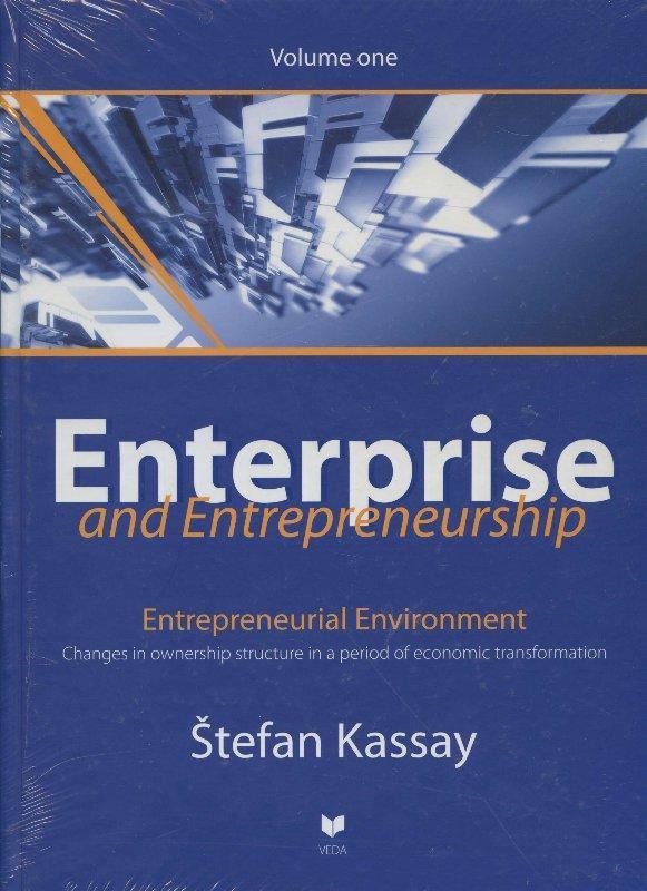 Kniha: Enterprise and entrepreneurship 1 - Štefan Kassay