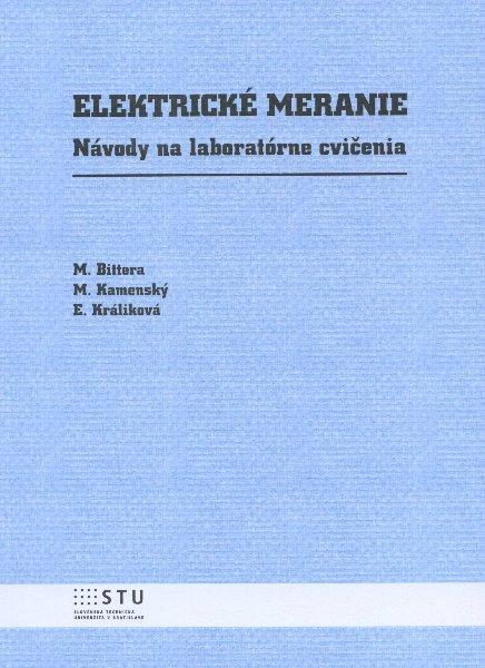 Kniha: Elektrické meranie - M. Bittera