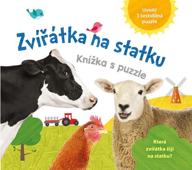 Kniha: Zvířátka z farmy - knížka z puzzleautor neuvedený