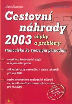 Cestovní náhrady 2003