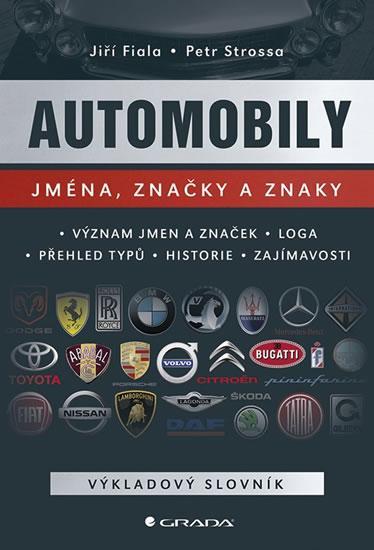 Kniha: Automobily - Jména, značky a znaky - Kolektív autorov
