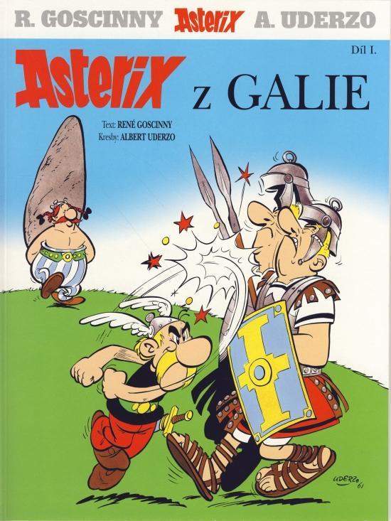 Kniha: Asterix z Galie (č.1.) - 4.vydání - Goscinny René