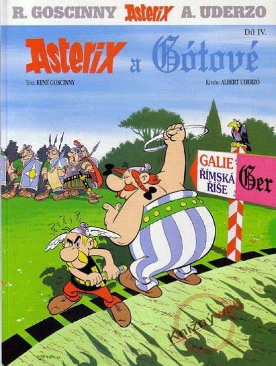 Asterix a Gótové - IV.díl - 3.vydání