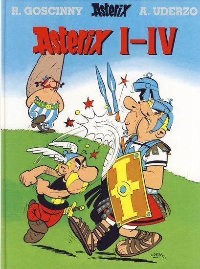 Asterix I-IV - 2. vydání