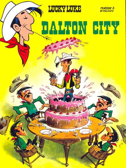 Kniha: Lucky Luke 4. Dalton city - Goscinny, Morris René