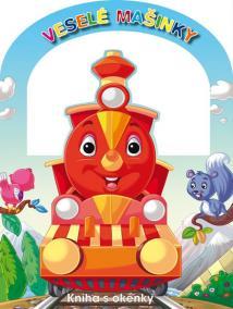 Veselé mašinky - Kniha s okénky