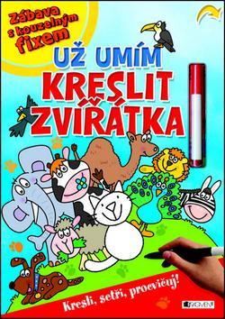 Kniha: Už umím kreslit zvířátkaautor neuvedený
