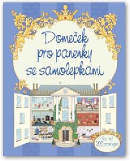 Kniha: Domeček pro panenky se samolepkamiautor neuvedený