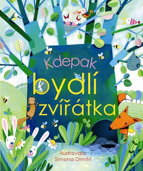 Kniha: Kdepak bydlí zvířátka - Dimitri Simona