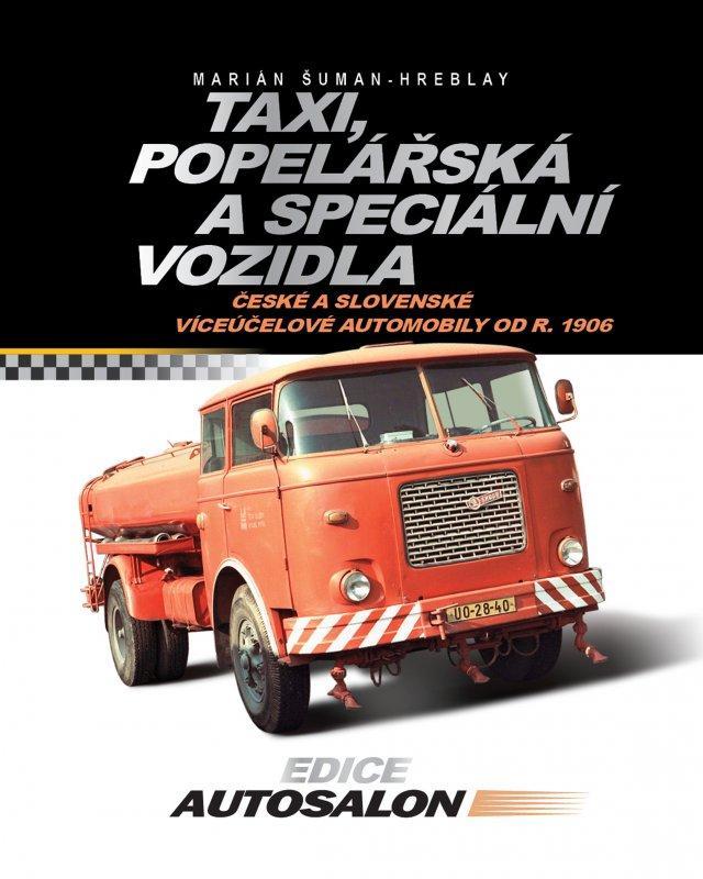 Kniha: Taxi, popelářská a speciální vozidla - Marián Šuman-Hreblay