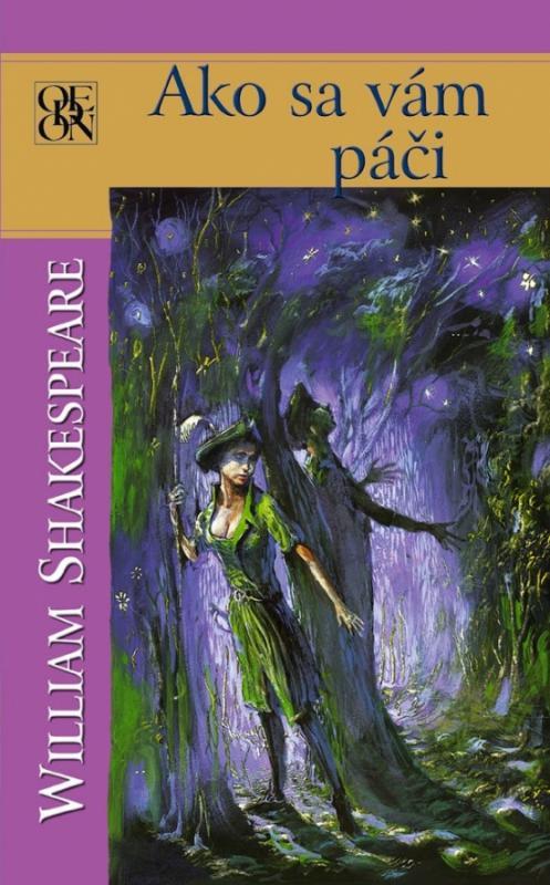 Kniha: Ako sa vám páči - Shakespeare William