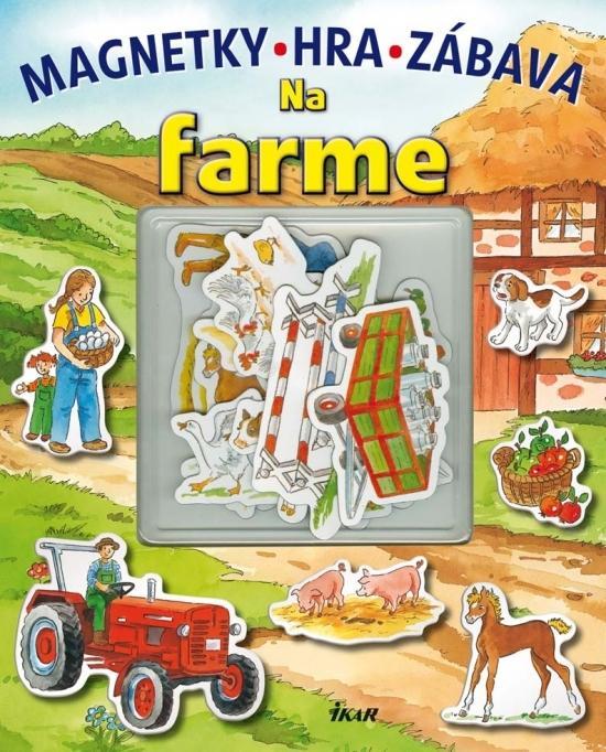 Na farme - magnetky, hra, zábava