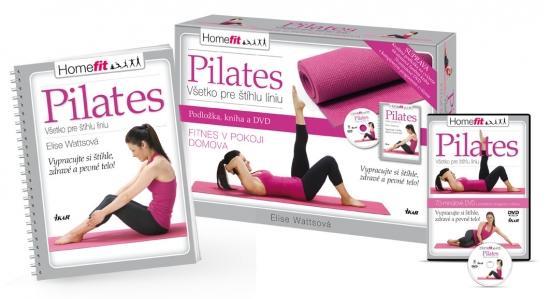 Kniha: Pilates - všetko pre štíhlu líniu - Watts Elise