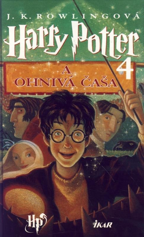 Kniha: Harry Potter 4 a Ohnivá čaša V9 - Rowlingová Joanne K.