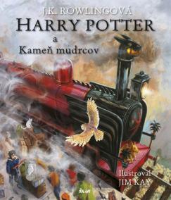 Harry Potter 1 a Kameň mudrcov - Ilustrovaná edícia