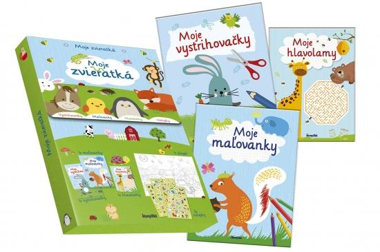 Kniha: Moje zvieratká - Kufrík plný zábavyautor neuvedený