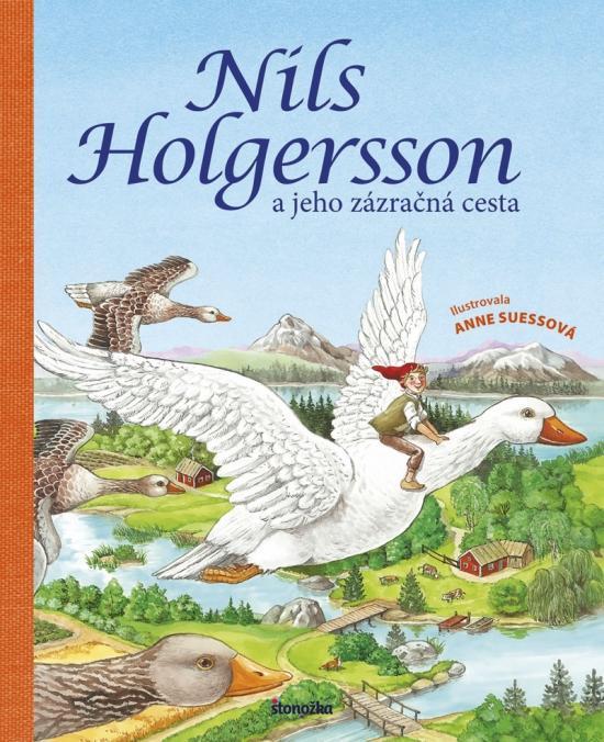 Kniha: Nils Holgersson a jeho zázračná cestaautor neuvedený