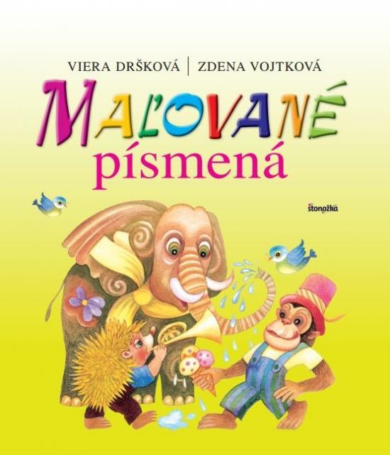 Kniha: Maľované písmená, 3. vydanie - Dršková, Zdena Vojtková Viera