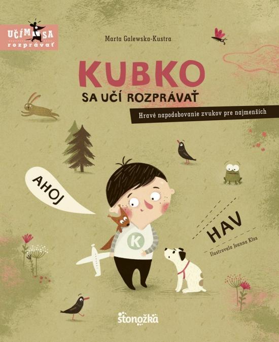 Kniha: Kubko sa učí rozprávať